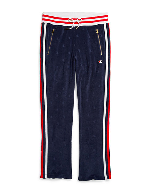 9c0fc193b4 Champion Life® Women's Terry Warm Up Slim Flare Pants | Champion