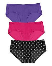Maidenform Comfort Devotion Sweet Nothings Hipster, 3-Pack