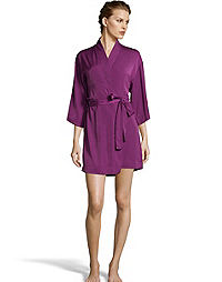 Maidenform Satin Robe
