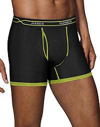 Hanes Men's FreshIQ®  X-Temp® Active Cool Short Leg Boxer Briefs 3-Pack