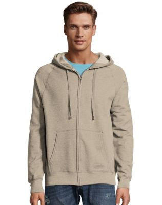 Hanes Men's Nano Premium Lightweight Full Zip Hoodie