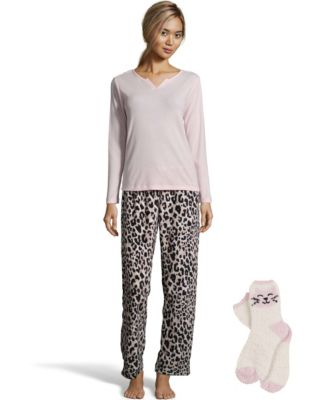 Pillow Talk Soft & Cozy Pajama Set with Socks