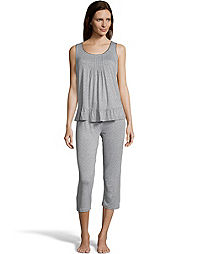 Rene Rofe Casual Chic Capri Sleep Set