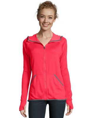 Hanes Sport™ Women's Performance Fleece Zip Up Hoodie