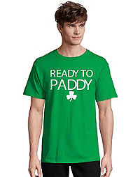 Men's ComfortSoft® Ready to Paddy Graphic Crewneck Tee