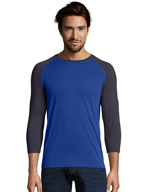 Hanes Sport™ Men's Performance Baseball Tee
