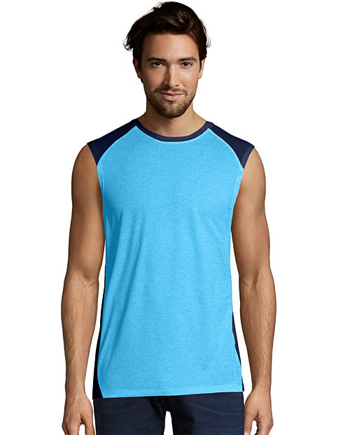 d3968672c5f86 Hanes Sport X-Temp Men s Muscle Tee - Performance