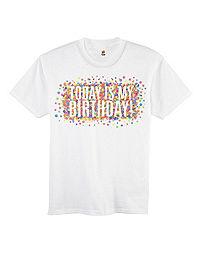 Girls' ComfortSoft® Team Birthday Graphic Crewneck Tee