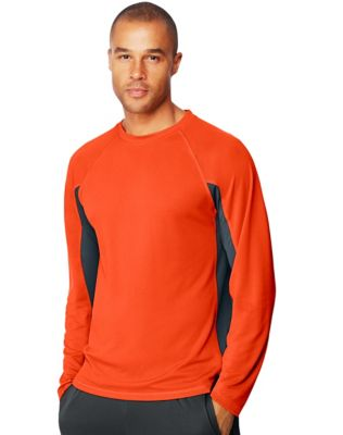 Hanes Sport™ X-Temp® Men's Performance Long-Sleeve Training T-Shirt