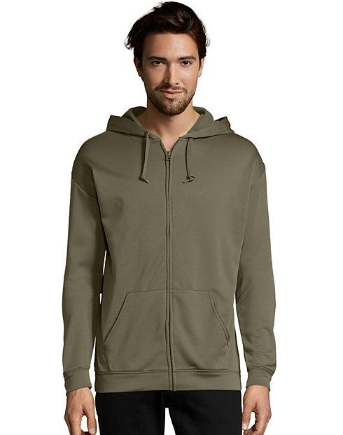 Hanes Sport Men s Performance Fleece Zip Up Hoodie  a41ac57c0