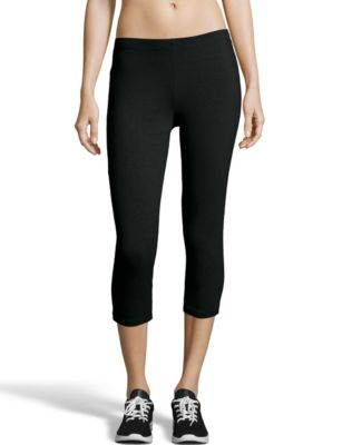 Hanes Women's Stretch Jersey Capris