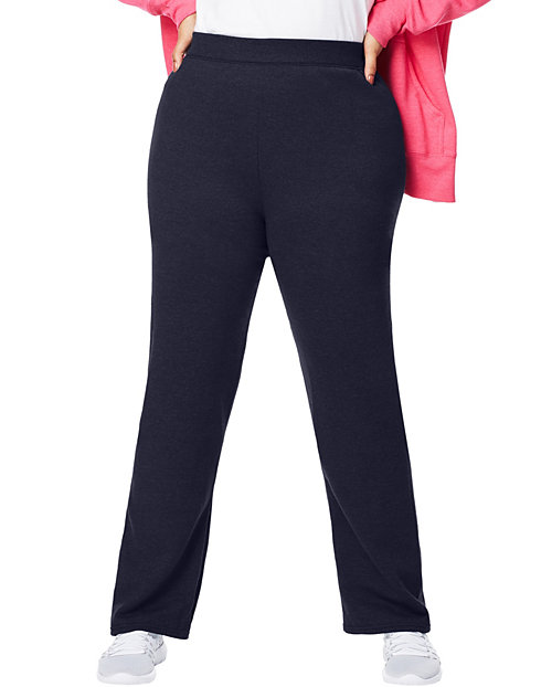 42ab7c94dec Just My Size ComfortSoft® EcoSmart® Fleece Open-Hem Women s Sweatpants