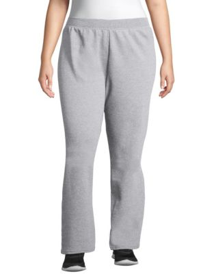 Just My Size ComfortSoft® EcoSmart® Fleece Open-Hem Women's Sweatpants, Petite Length