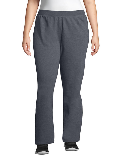 JMS ComfortSoft® EcoSmart® Fleece Open-Hem Women's Sweatpants, Petite Length