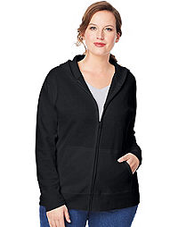 Just My Size ComfortSoft® EcoSmart® Fleece Full-Zip Women's Hoodie