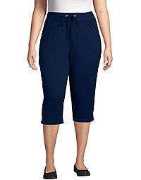 eb08e80e Just My Size French Terry Women's Capris