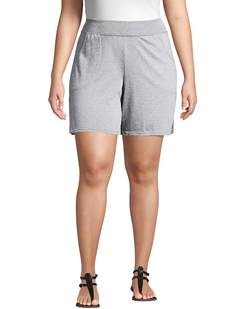 29c7a94a0b Just My Size Cotton Jersey Pull-On Women's Shorts