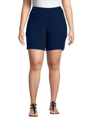 Just My Size Cotton Jersey Pull-On Women's Shorts