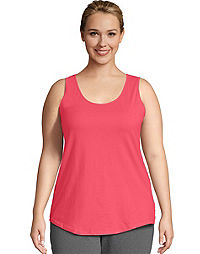 JMS Cotton Jersey Shirttail Women's Tank Top