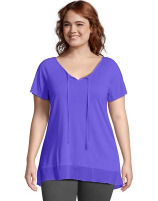 Just My Size Hi-Lo Women's Tunic