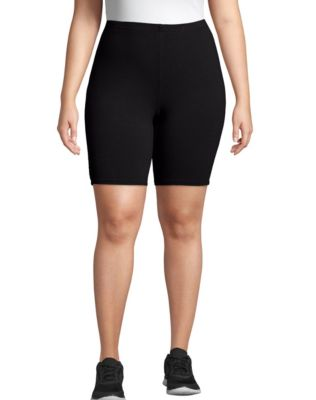 Just My Size Stretch Cotton Jersey Women's Bike Shorts