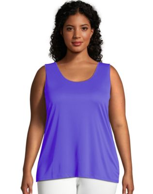 Just My Size Cool DRI® Scoop-Neck Women's Tank Top