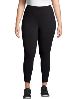 Just My Size Stretch Cotton Jersey Women's Leggings