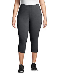 JMS Stretch Cotton Jersey Women's Capri Leggings