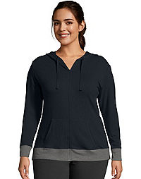 JMS Active French Terry Zip Hoodie
