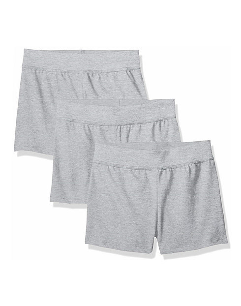 Hanes Girls' Jersey Short 3-Pack