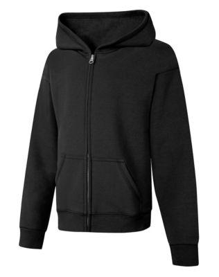 Hanes Hanes ComfortSoft™ EcoSmart® Girls  Full-Zip Hoodie Sweatshirt b53224b68c66
