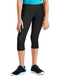 Hanes Sport™ Girls' Performance Capri Leggings