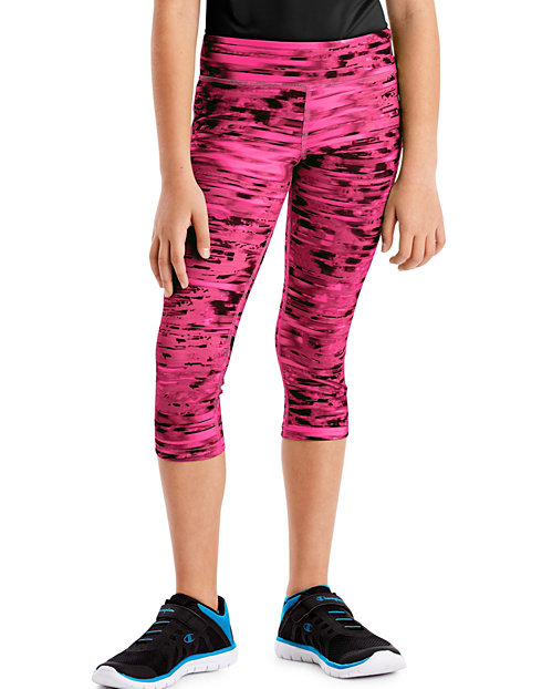 Hanes Sport™ Girls' Performance Capri Leggings