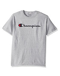 Champion Boys' Jersey Tee, Script Logo