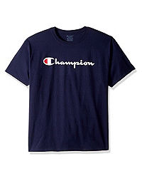Champion Youth Logo Tee, Script Logo