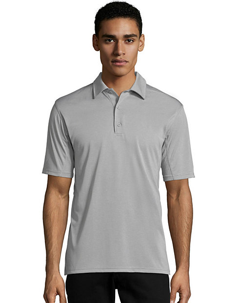 Hanes Sport™ Men's Heathered Performance Polo