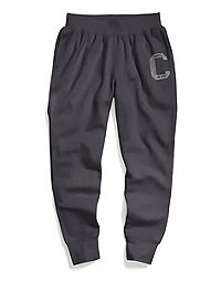 Champion Men's Heritage Fleece Joggers, Big C Logo