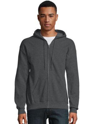Hanes Nano Sky Baby Blue Pullover Sweatshirt Hood Hoodie Mens Size M Medium NEW