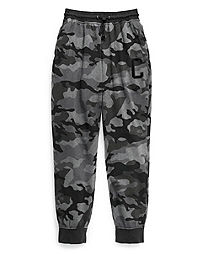 Champion Men's Vintage Dye Fleece Camo Joggers, Big C
