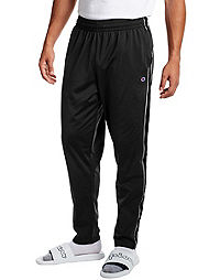 Champion Men's Track Pants, Logo Side Taping