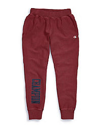 Champion Life® Men's Vintage Wash Reverse Weave® Joggers, Satin Block Logo