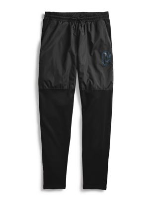 Champion Men's Warm Up Pants, Block C Logo