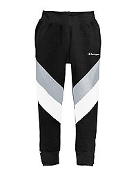 Champion Life® Men's Reverse Weave® Colorblock Track Pants, Script Logo