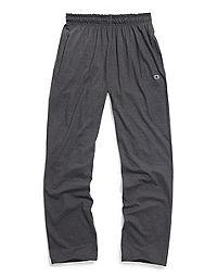 Champion Men's Open Bottom Jersey Pants