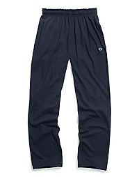 Champion Men's Open Bottom Jersey Pants