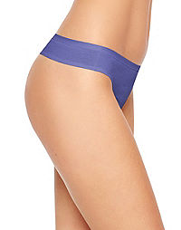 Hanes Women's Cotton Thong Panties 6-Pack