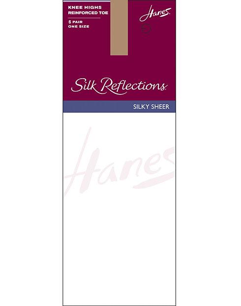 380d721e4 Hanes Knee Highs - Silk Reflections