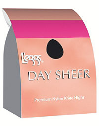 L'eggs Day Sheer Knee Highs, Sheer Toe 12-Pack