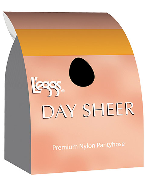 L'eggs Day Sheer Knee Highs, Reinforced Toe 12-Pack