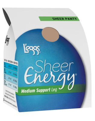 L'eggs Sheer Energy Regular, All Sheer Pantyhose 6-Pack